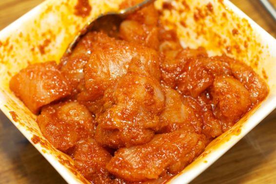 Broodje Thaise kip en gegrilde groente 5