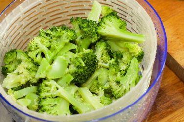 Salade met zomerse dressing van blauwe bessen 29