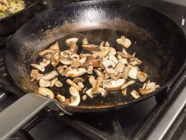 Romige pasta met prei, champignons en spekjes (36 van 40)