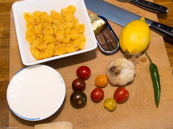 Pasta met boerenkool, peper en mascarpone-3
