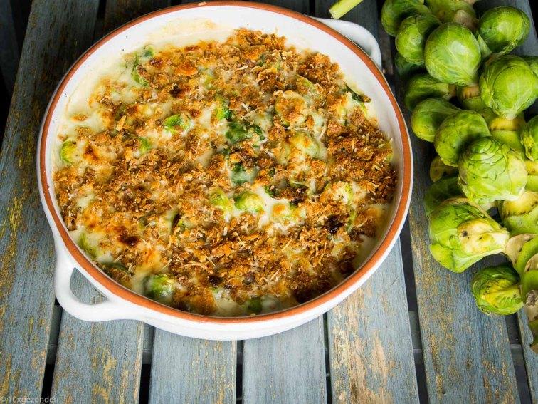 Spruiten uit de oven met parmezaanse kaas-44