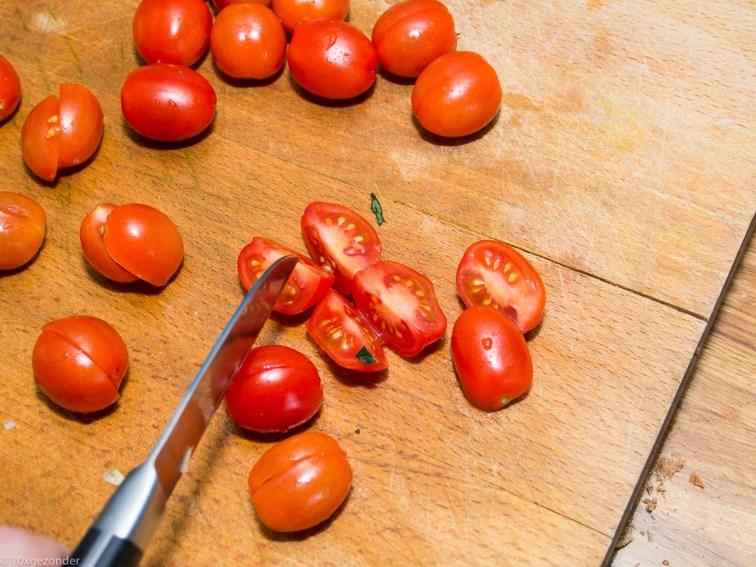 Pasta pesto met palmkool en tomaatjes-27