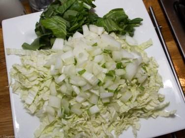 Quinoa met roerbakgroenten en kipspiesjes-29