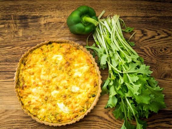Recept hartige taart- Preitaart met makreel-13