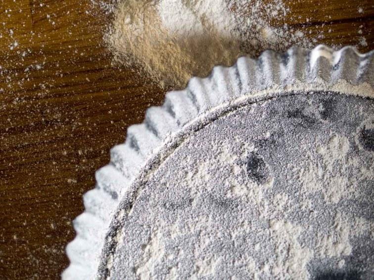 Recept hartige taart- Preitaart met makreel-7