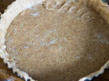 Recept hartige taart- Preitaart met makreel-9
