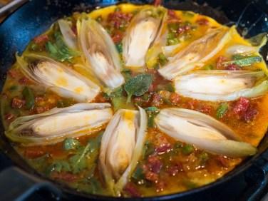 Spaanse tortilla met chorizo en witlof-23