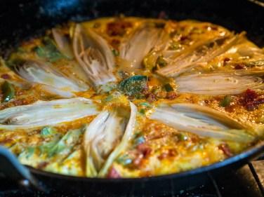 Spaanse tortilla met chorizo en witlof-24
