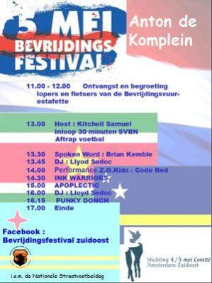 bevrijdingsfestivalzuidoost