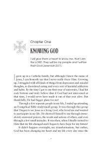 10 Steps to Knowing God (Ch 1 Start After)