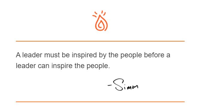 Simon Quote off the Day