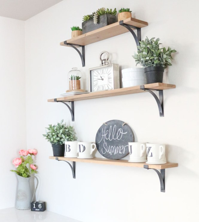 Shelves And Crates