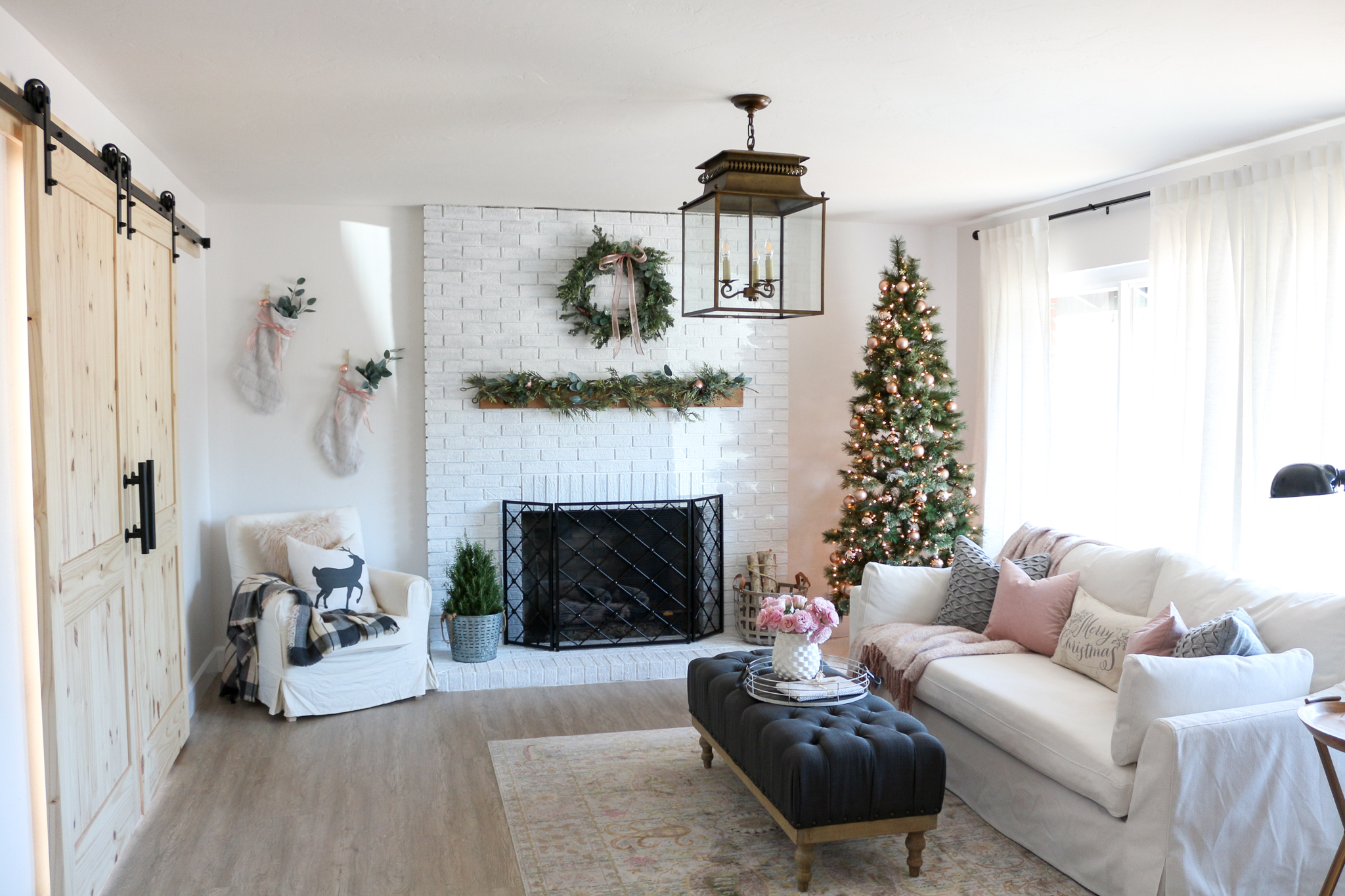 Find the best living room paint colors right here, from calming living room paint colors to small living room paint colors and more, in all price points. Modern Farmhouse Style Living Room Holiday Tour