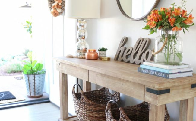 Fall Entryway Decor Easy Simple Ways To Welcome Fall
