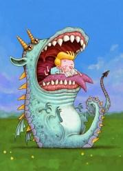 Niño y Dragón