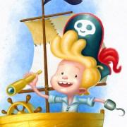 Pirata (detalle)