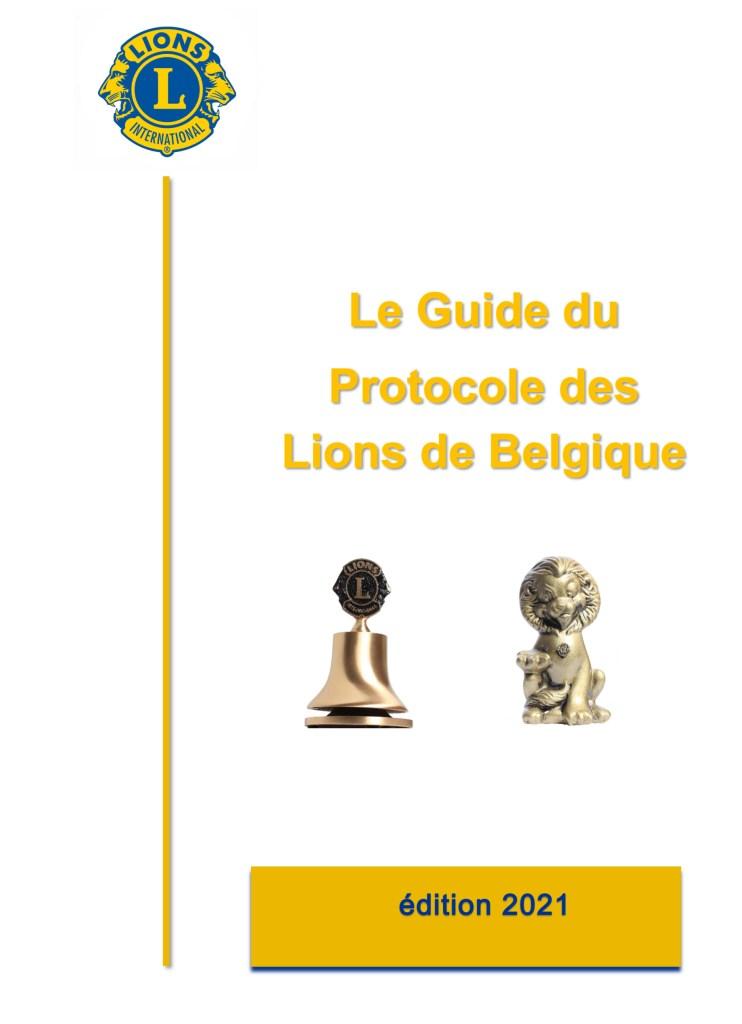 Guide du Protocole des Lions de Belgique -1