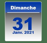 31 janv 2021