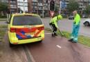 Paaltje omver gereden Molenstraat Apeldoorn