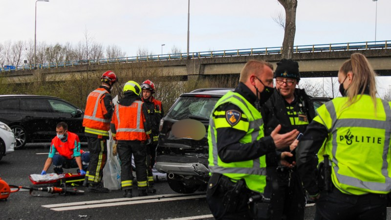 Ernstig ongeval op de A12 bij Reeuwijk