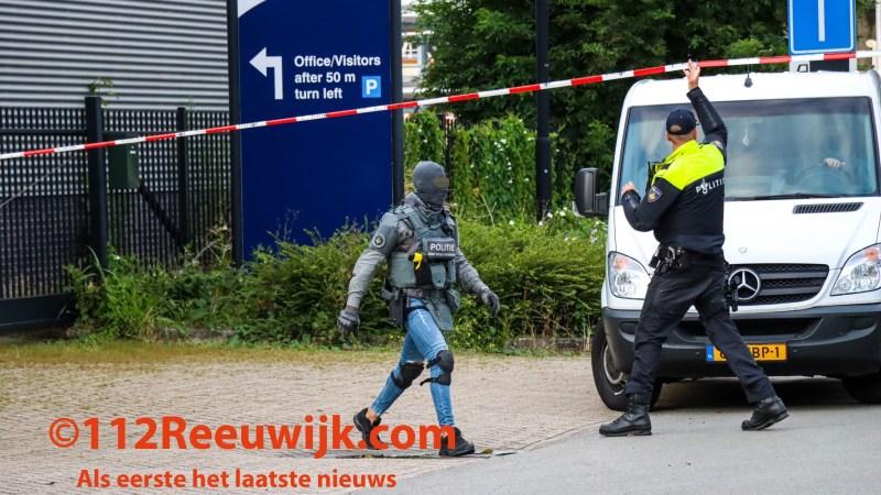 Politie breekt garageboxen open in zoektocht naar ontvoerde man