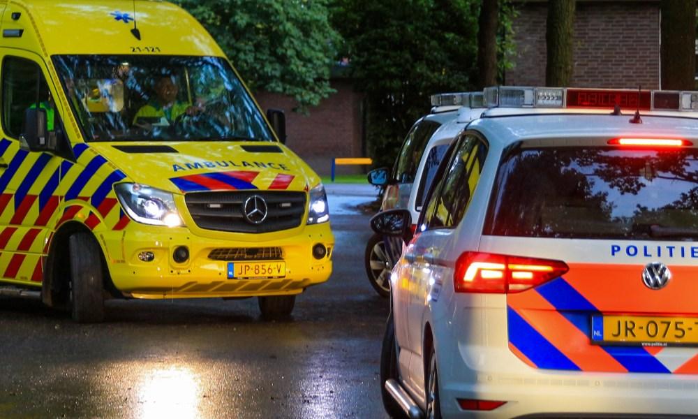 Ernstig ongeval met snorfietser in Amsterdam.