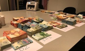 Geld drugsactie