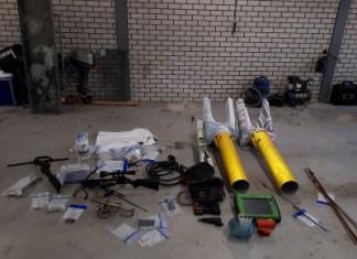 In beslag genomen spullen Werkendam
