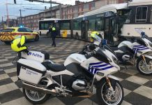 Ongeval tram bus