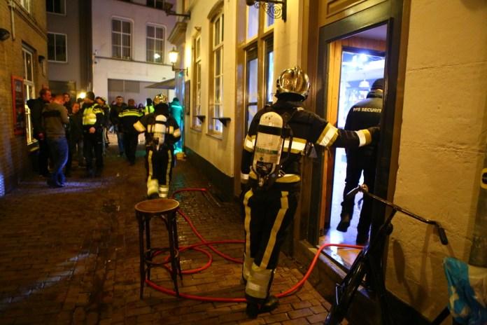 Brand café Den Bosch