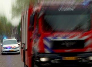Tankautospuit en noodhulp