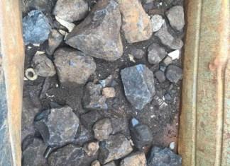 metalen ballastblokken