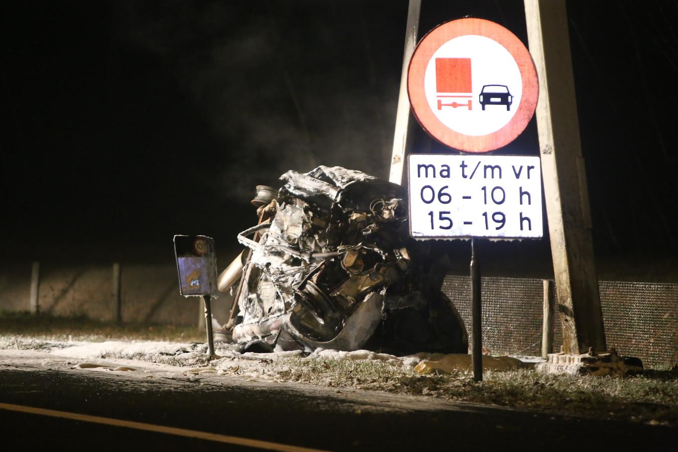 Drie doden door ongeval op A59 bij Rosmalen.