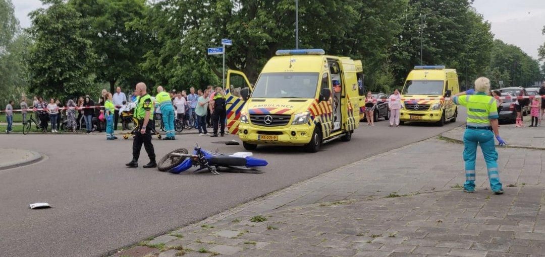 Brommerrijder er van door naar ernstig ongeval Den Bosch.