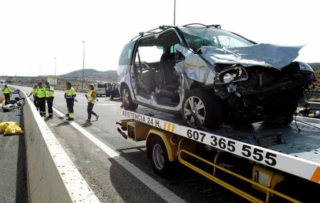 Nederlandse man en Belgische baby omgekomen bij ongeval.