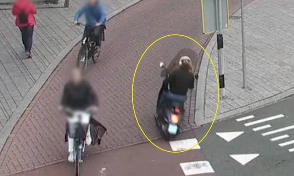 Scooterrijdster laat vrouw achter met zwaar letsel na botsing.