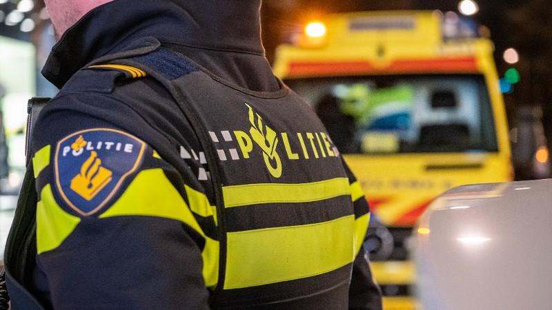 Fietser overleden bij ernstig verkeersongeval.