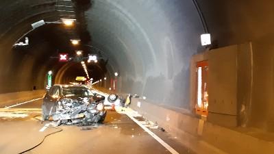 Automobiliste overleden bij ongeluk Westerscheldetunnel.