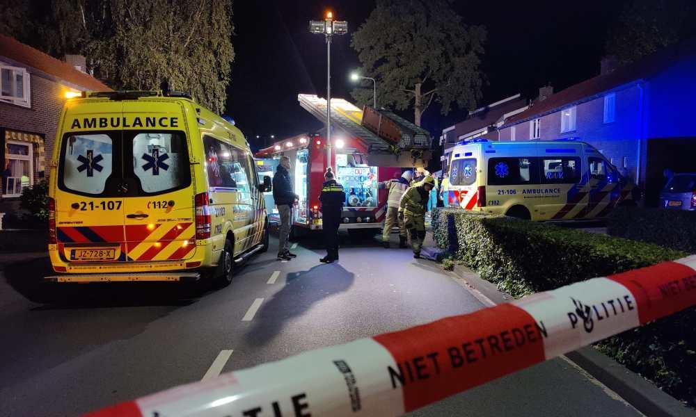 Gewonden bij frontaal ongeval in Rosmalen.