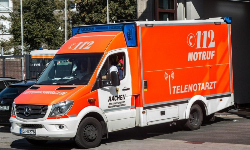 Dodelijke aanrijding net over de grens, veroorzaker richting Nederland gereden.