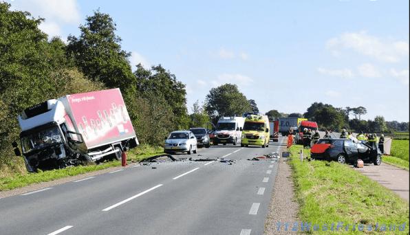 Ongeluk in Hoogwoud met dodelijke afloop