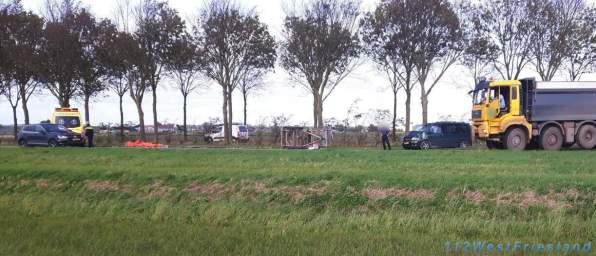 Ongeval Zwaagdijk