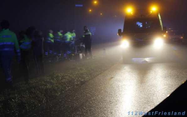 Ongeluk Tolweg Hoogkarspel