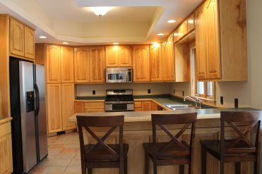 kitchen 12 x 14 (appliances included)