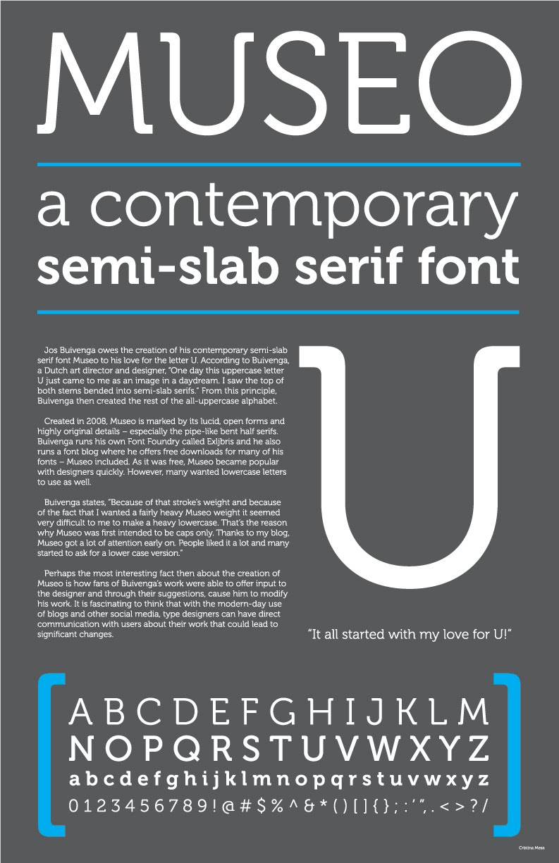 Many Great Font Posters  116nsternhagen
