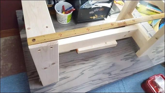 ベッドサイドテーブルの作り方~作図ソフト『もでりん』使用