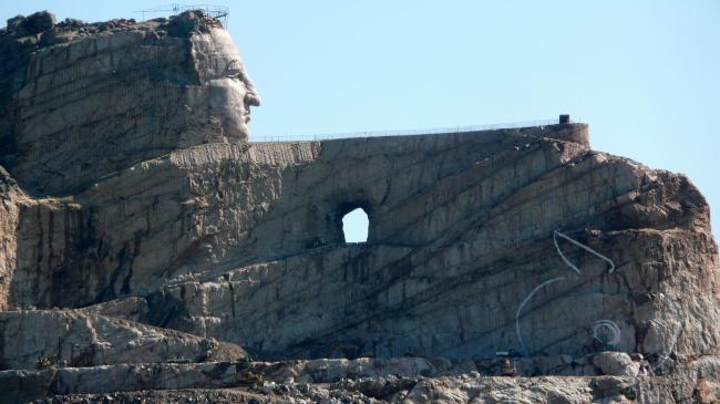 Gorgeous Photos Of Crazy Horse Memorial In South Dakota