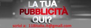 scrivici: 118italia.it@gmail.com