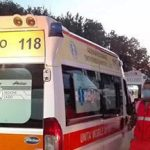 Frosinone – CORONAVIRUS: ambulanze in fila al pronto soccorso per trasportare i malati positivi