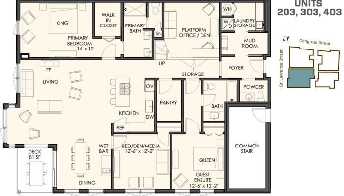 Four Different Floor Plans  118onmunjoyhillcom
